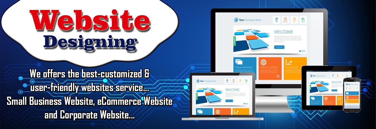 Website Designing Services Banner